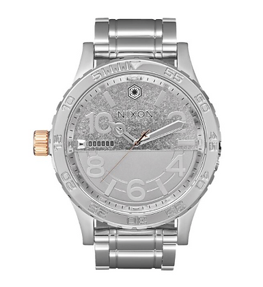 A172SW-2446 Nixon Phasma Silver Stainless Steel