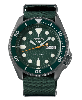 SRPD77K1 - Seiko 5 Sports Green Nylon
