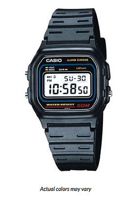 W59-1VQD CASIO DIGITAL WATCH 50M