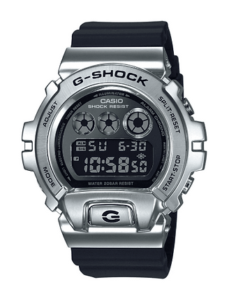 GM-6900-1DR G-Shock 25th Anniversary Stainless Steel Metal Bezel