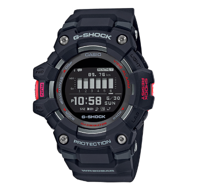 GBD100-1DR G-Shock G-Squad Black with Red