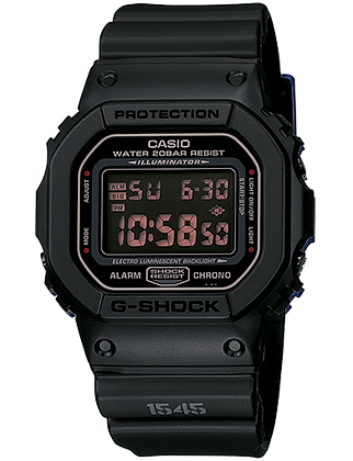DW-5600MS-1DR G-Shock Stealth Black Original Digital