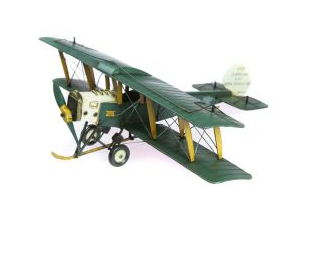 QUEENSLAND AVRO 504 PLANE COLLECTABLE