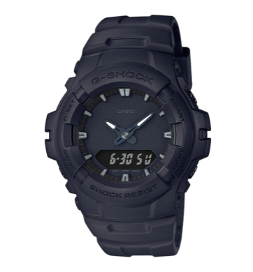 G100BB-1ADR G-Shock Black Analogue and Digital watch
