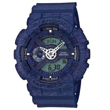 GA-110HT2-2A GShock-Heathered Series Blue Duo