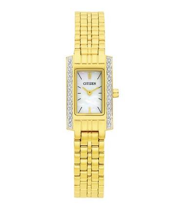 EZ6352-58D - Citizen Ladies Gold watch