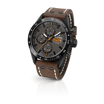 TW995 TW-Steel Limited Edition - DAKAR Coronel Black and Brown