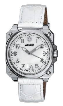 | IN STORE OFFER ONLY | WENGER - Mother of Pearl w/White Leather
