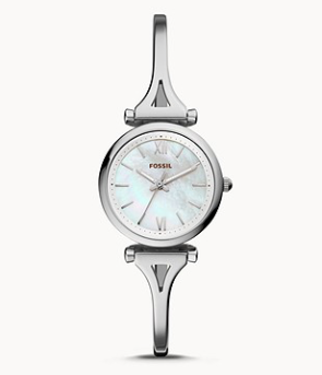 ES4501 FOSSIL Carlie Mini Three-Hand Stainless Steel Watch