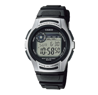 W-213-1AVDF CASIO 5 Alarms Youth Series