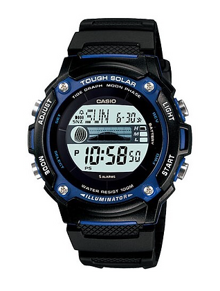 W-S210H-1AVDF CASIO Solar Tide watch