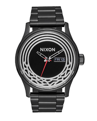 A356SW-2444 NIXON Men's Sentry Stainless Steel | Kylo Ren Black