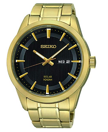 SNE368 - Seiko Solar Year-Round Analog watch