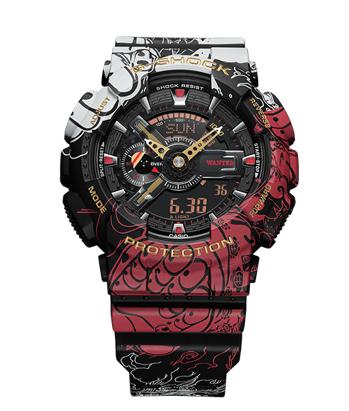 GA110JOP-1A4 G-Shock X One Piece Collab watch