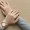 Thumbnail: SKW2714 SKAGEN Hald Rose-Tone Silk-Mesh Watch
