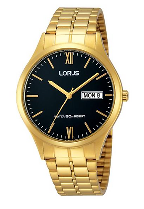 RXN06DX-9 LORUS Gold Toned Stainless Steel Men's watch