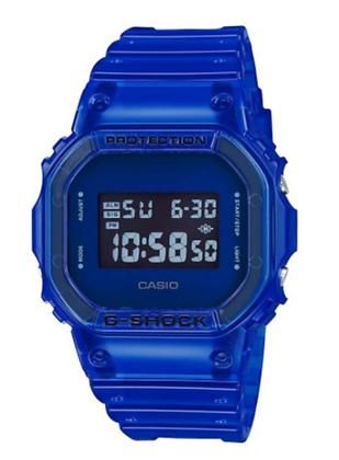 DW-5600SB-2DR G-Shock Blue Skeleton Series