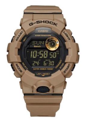 GBD-800UC-5DR G-Shock Brown Steptracker with Bluetooth All digital