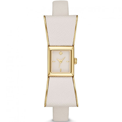 1YRU0898 - Kenmare Cream Dial Ladies Bow Shaped Watch