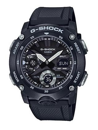GA2000S-1A G-Shock Black Carbon Core