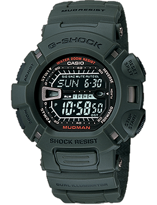 G-9000-3VDR - G-SHOCK Military Green Mudman