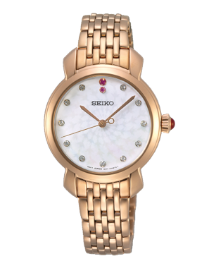 SUR624P1 SEIKO Ladies watch with Swarovski crystals