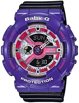 Baby-G - Purple and Black Duo