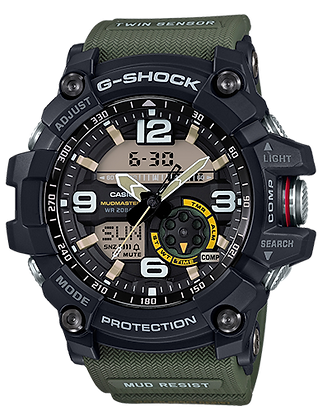 GG-100-1A3 Black and Green Twin Sensor Mudmaster