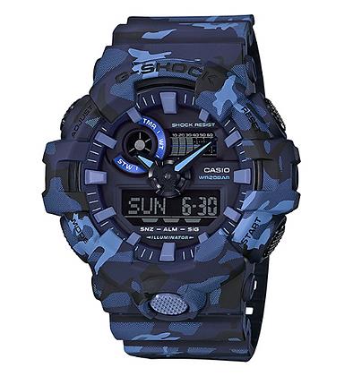 GA-700CM-2A G-Shock Duo Camo Blue