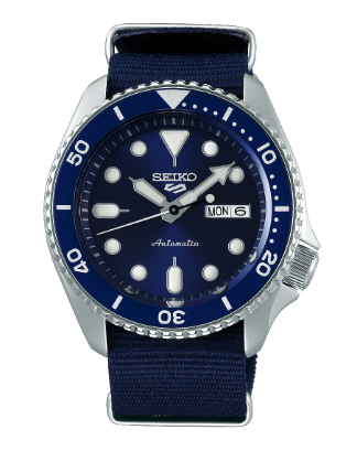 SRPD51K2 - Seiko 5 Sports Blue Nylon