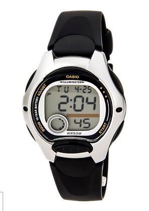 LW-200-1AV Casio Youth - Black and Silver Digital