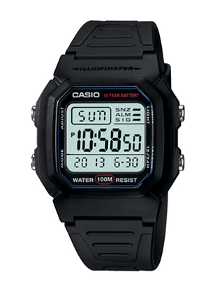 W800H-1 CASIO DIGITAL 100M