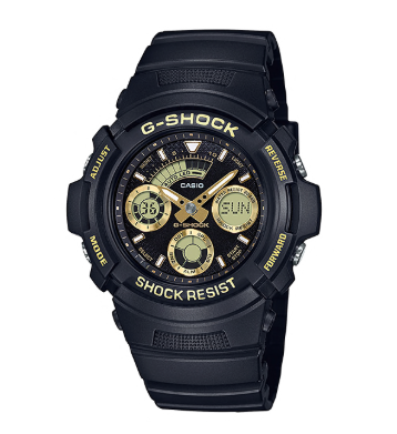 AW591GBX-1A9 G-Shock Black/Gold