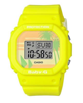 BGD560BC-9D Baby-G  Yellow Summer