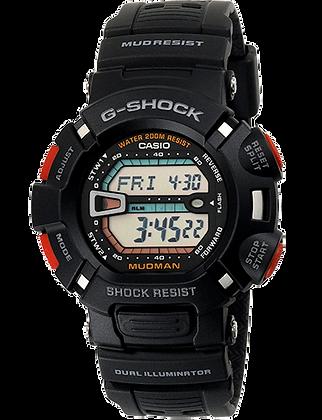 G-9000-1VDR - G-SHOCK All Black Mudman