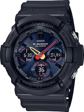 GAS-100BMC - G-Shock Neo Tokyo Akira Series - Black/Midnight Blue Solar