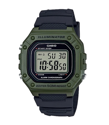 W218H-3A Casio Digital watch