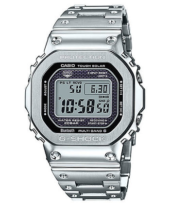 GMWB5000D-1DR G-Shock 35th Anniversary - All Metal Silver