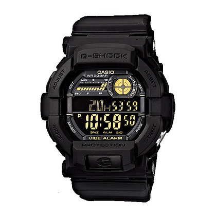 GD-350-1BDR - G-SHOCK - Black Ops Stealth Vibration Alert