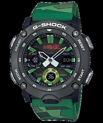 GA-2000GZ-3A G-SHOCK x GORILLAZ - Limited Edition