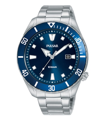 PG8303X - Pulsar Blue Analogue watch