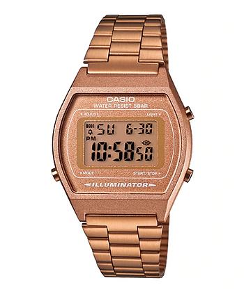 B640WC-5AD Casio - Retro All Rose Gold Digital
