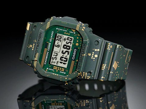 DWE5600CC-3DR G-Shock Circuit Board Carbon Core