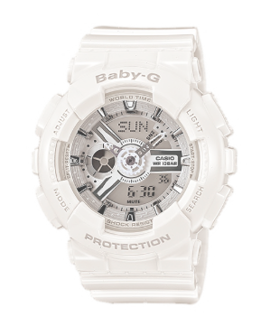 BA-110-7A3DR BABY-G All white Duo