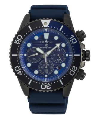 "SSC701P1 - Seiko Solar Blue ""Save the Ocean"""