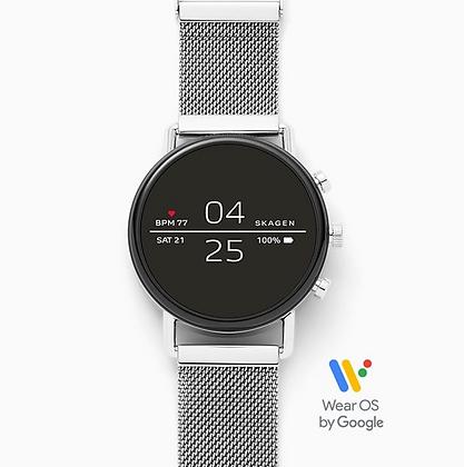 SKT5102 SKAGEN Smartwatch - Falster 2 Magnetic Steel-Mesh