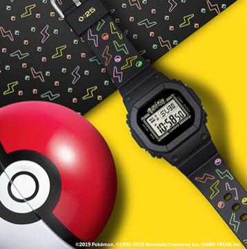 BGD-560PKC-1DR BABY-G POKEMON | 25th Anniversary Pokemon Collab