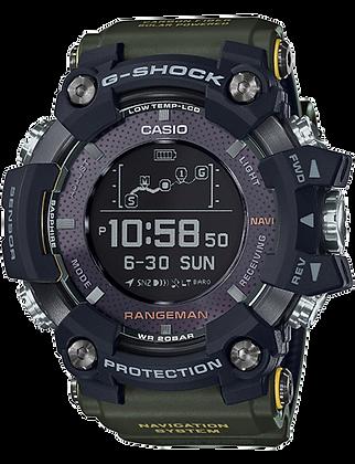 GPRB1000-1B G-Shock Master of G - GPS Rangeman Camo Green