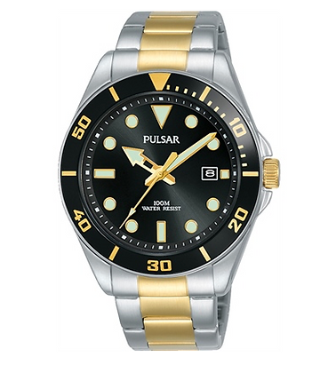 PG8295X Pulsar Mens watch 100M