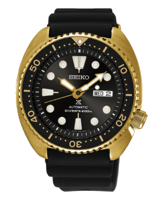 SRPC44P9 Seiko Prospex Turtle Gold